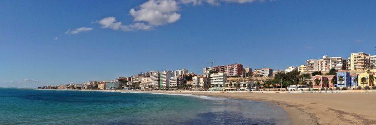 El estudio se centra en los edificios de la costa.