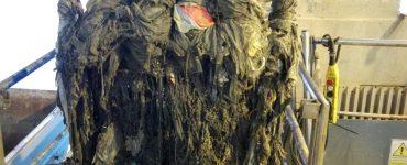 Las toallitas se convierten en el monstruo de las depuradoras