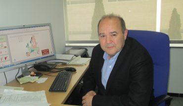 Joaquín Melgarejo en las instalaciones del IUACA.
