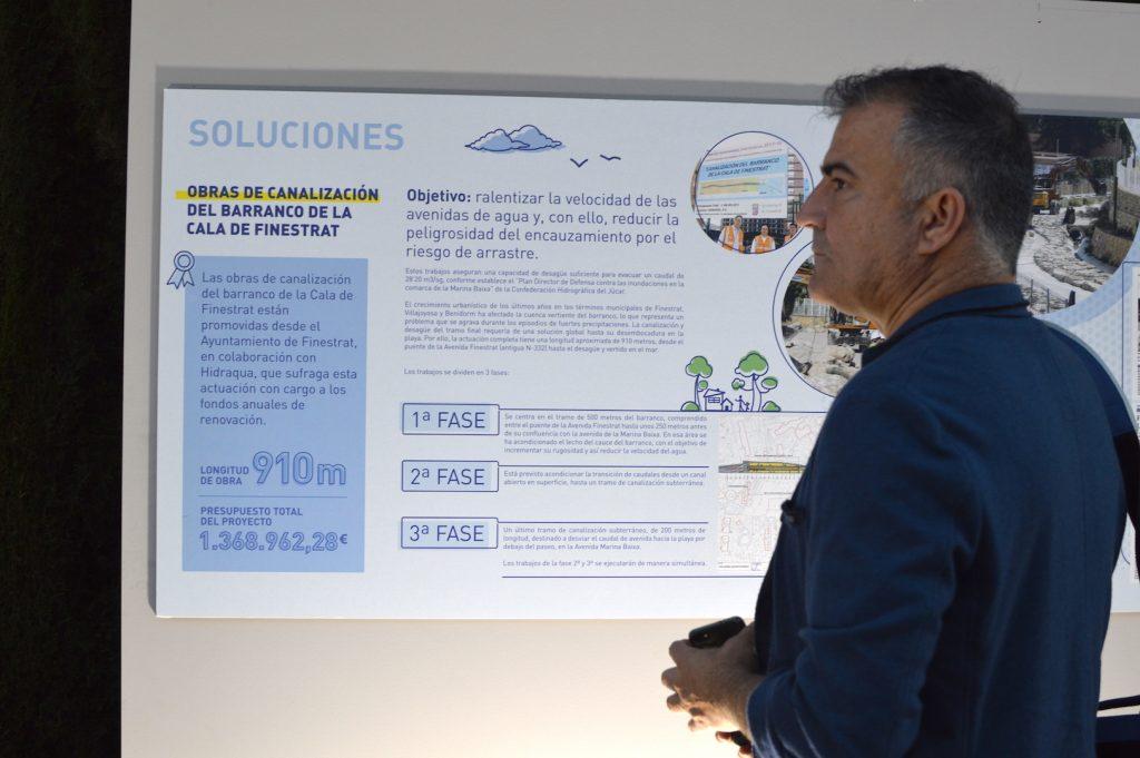 Una exposición ha presentado el trabajo en cada municipio.