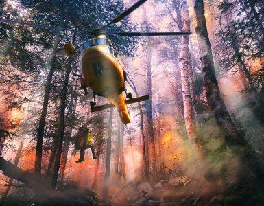 El riesgo de incendios este año es alto tras el aumento de la materia vegetal que se secará.