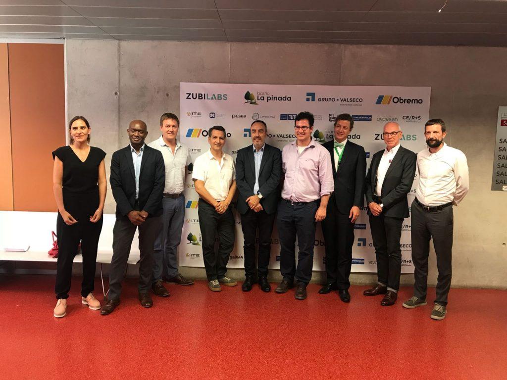 Los expertos reunidos en la jornada Re-Thinking Cities sobre desarrollo urbano sostenible.