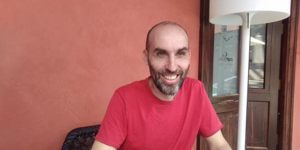 David Baute, director del festival de cine Fimec.