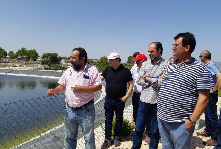 La comunidad de regantes de Foia del Pou utiliza agua reutilizada para abastecer su regadío.