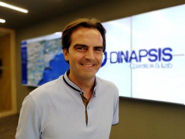 Jorge Ballesta, en la sede de Dinapsis.