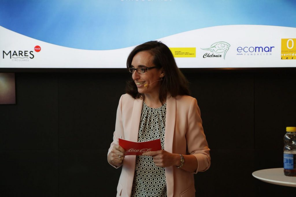 Ana Gascón, directora de RSC de Coca-Cola Iberia.