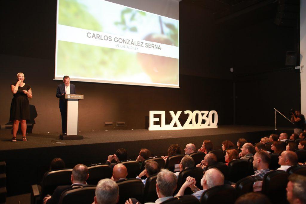 Carlos González presentó el Plan Elx 2030.
