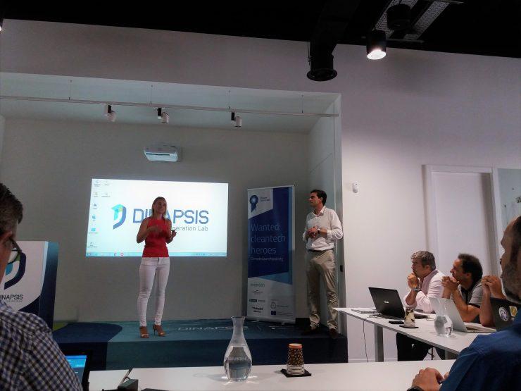 Dinapisis acoge una jornada de trabajo con emprendedores verdes que participarán en Climate Lauchpad.