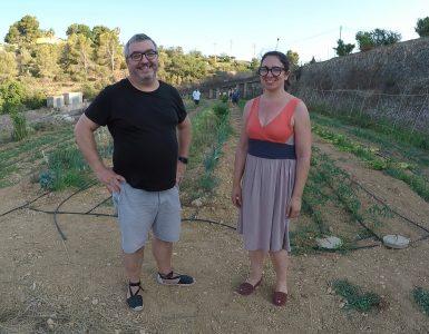 Pep Solà y Ana Pericás proponen desde Fusta un restaurante que apoya al máximo la economía circular.