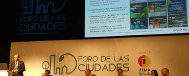 Agustín Torres en el Foro de las Ciudades presentó una línea de la Edusi Rivas Vaciamadrid.