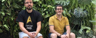 Hugo Riquelme y Jordi Sierramía crearon Singular Green, una empresa dedicada a las cubiertas vegetales