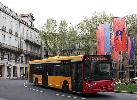los autobuses de vectalia y tmb utilizarán gas natural en la localidad de Béziers.