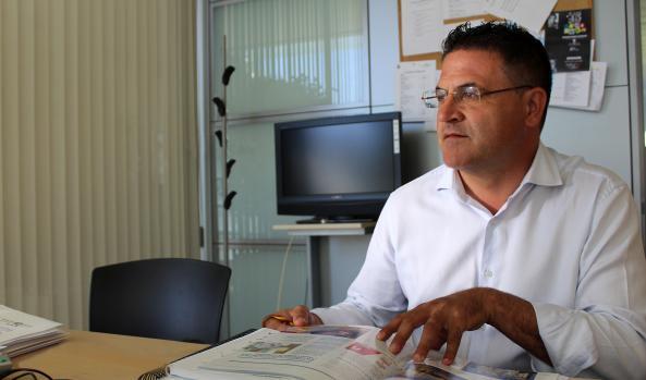 El concejal de Medio Ambiente, José Ramón González de Zárate.