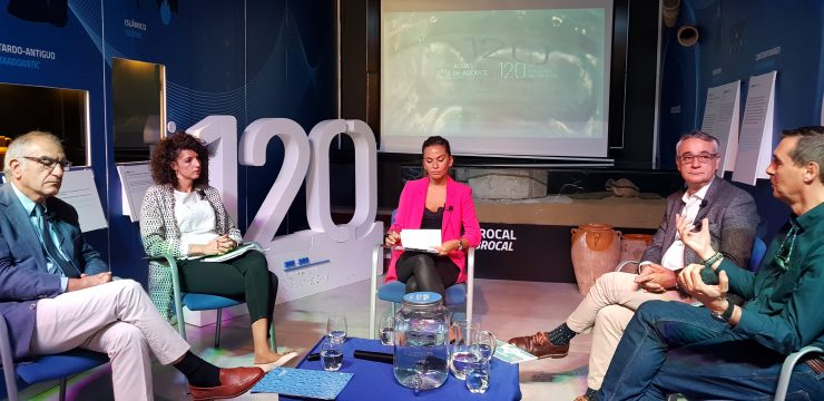 Jorge Olcina reclama cambios en el modelo urbanístico para adaptarse al cambio climático, dentro del foro de Aguas de Alicante.