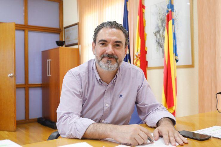 El alcalde de l'Alfàs, Vicente Arques.