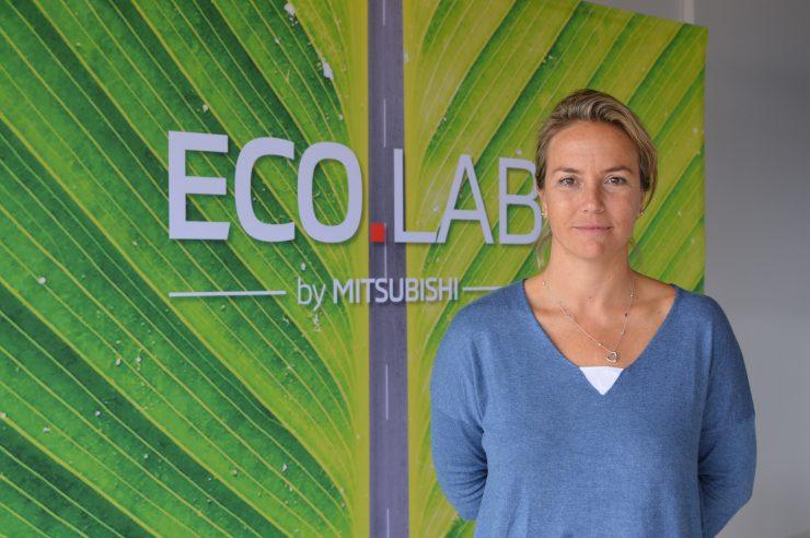 Odile Rodríguez de la Fuente, en Ecolab, destaca la importancia de concienciarse para reducir las emisiones de gases de efecto invernadero.