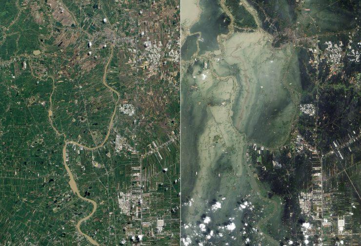 Los fenómenos climatológicos extremos pueden causar efectos tan graves como el tsunami que asoló Ayutthaya