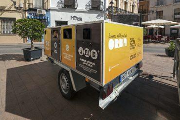 Orba ha organizado los residuos en cinco categorías y según el día de la semana se sacan.