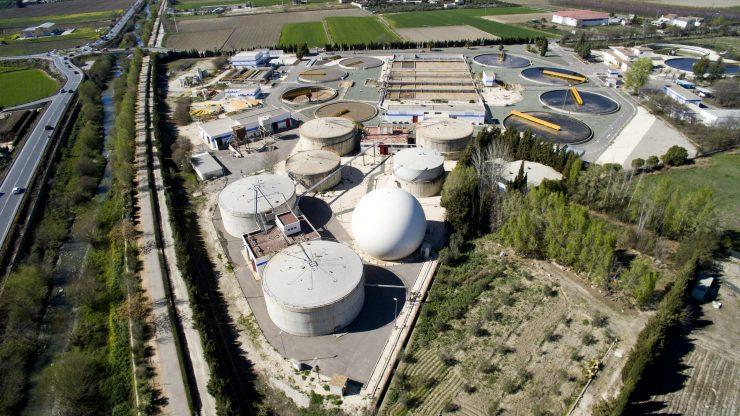 Vista aérea de Biofactoría Sur Granada