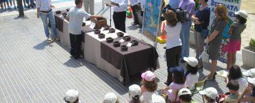La comunidad educativa de Hurchillo está intentando que todos los alcaldes de España se unan para el Contrato Educativo de la Tierra