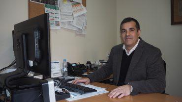 El concejal de Medioambiente, Miguel Ángel Fernández, se encarga de gestionar la EDUSI de Orihuela.