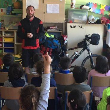 Rafa Sanchis ha recorrido España con el proyecto Miss Pachamama, educando y concienciando sobre el medioambiente.