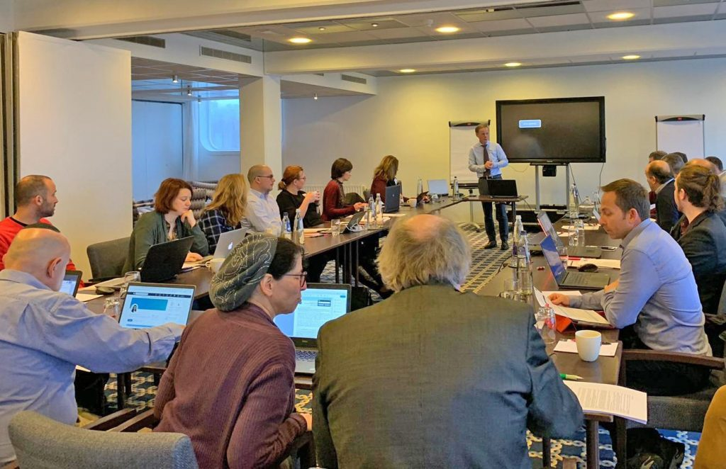 La reunión de arranque del proyecto HiSea se celebró el pasado 8 de enero en Rotterdam.