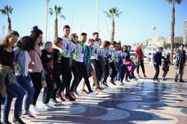 Este grupo impulsa el plogging en Alicante.