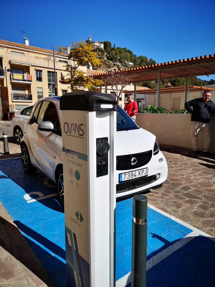 Serra apuesta por la movilidad eléctrica para atraer turistas a su parque natural.