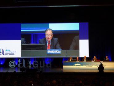 Fernando Morcillo, en la ponencia inaugural del congreo Aeas.
