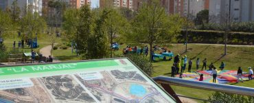 Actividades infantiles y culturales en el parque La Marjal