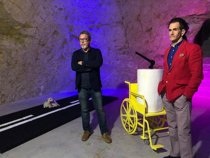 Rafael Maestro y José Ángel Uberuaga en la presentación del M2A