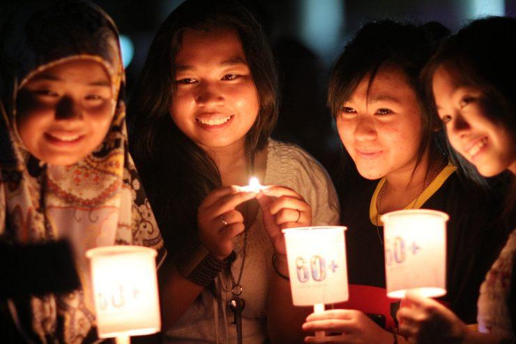 En la Hora del Planeta se puede participar de diversas formas: una consumiendo menos electricidad.