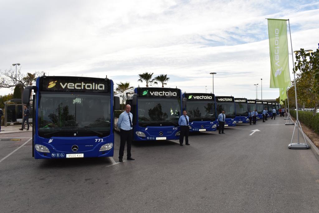 Estos vehículos suponen una renovación del 25% de la flota de La Alcoyana.