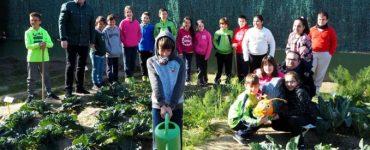 El colegio de Hurchillo ha conseguido la bandera que lo destaca como escuela verde
