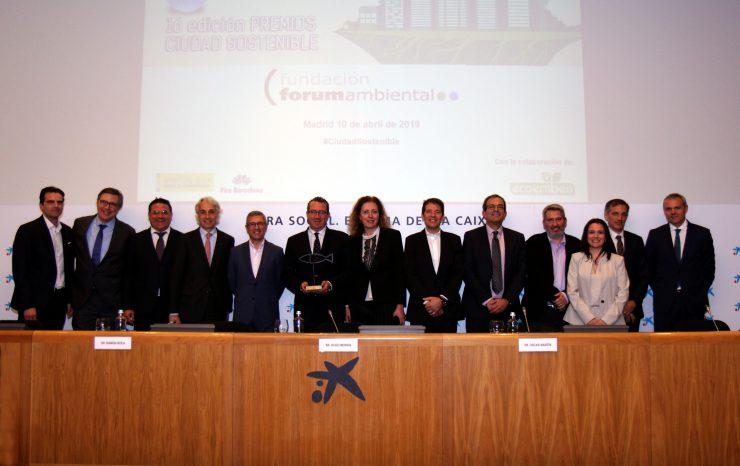 Benidorm logra el premio Ciudad Sostenible por la labor del centro Dinapsis