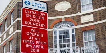 Londres pone en marcha la Ulez, una zona limitada a emisiones ultra bajas de gases contaminantes.