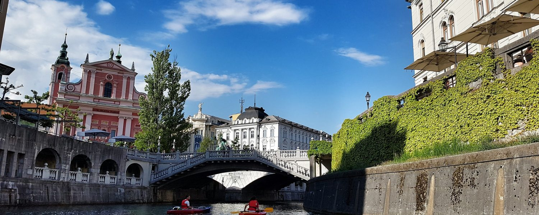 Ljubljana se plantea como uno de los destinos inteligentes destacados de Europa.