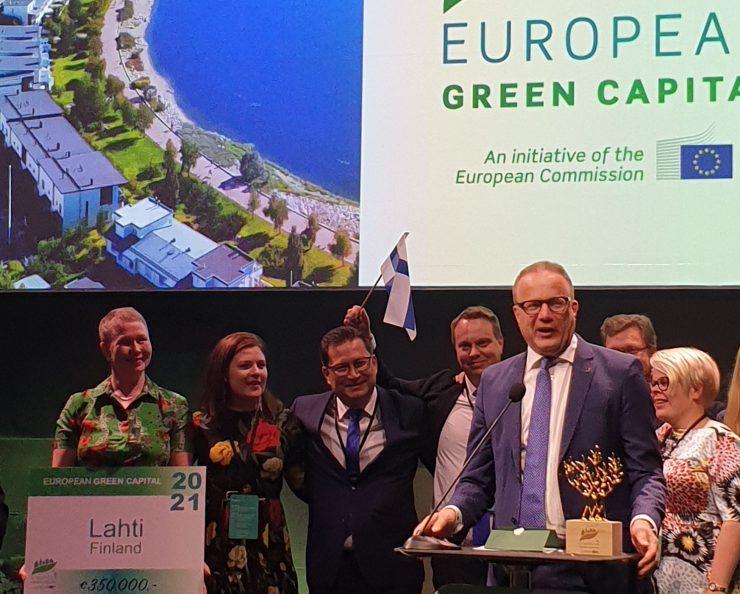 Lahti será la capital verde europea en 2021