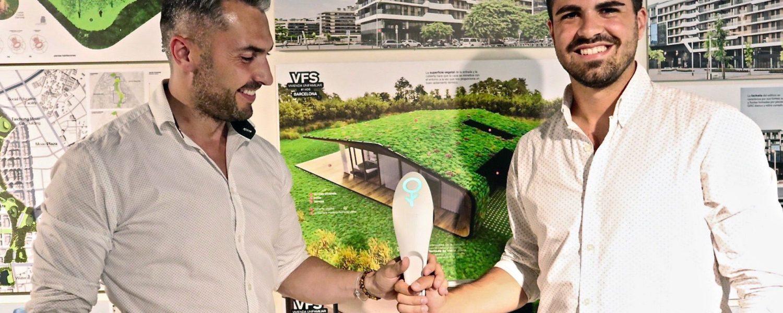 Verdtical utiliza sensores creados por Fliwer para traducir las necesidades de las plantas en mensajes sencillos para sus cuidadores