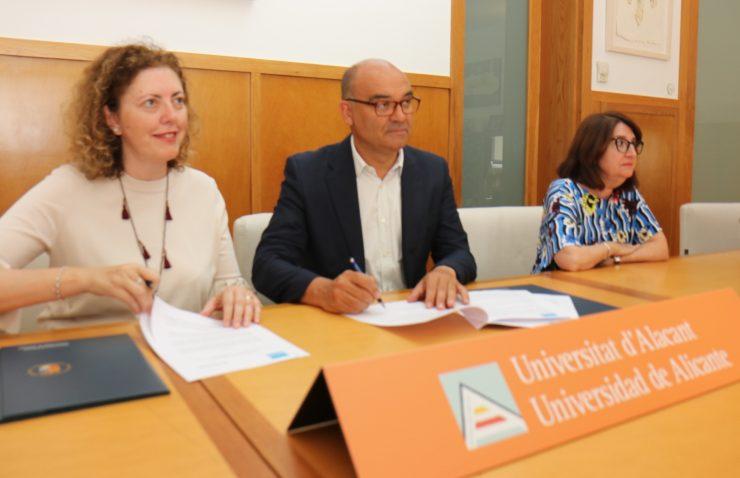 El convenio entre la Fundación Aquae y la Universidad incluye un doctorado industrial centrado en microplásticos