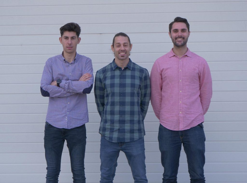 José Luis Pineda Riera, José Manuel González y Pablo García Martínez componen el equipo de Boniafit.