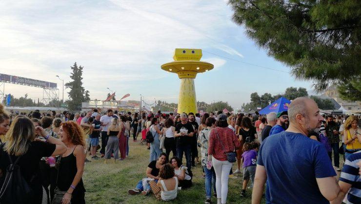 Las acciones llamativas son más necesarias en los festivales para animar a reciclar.