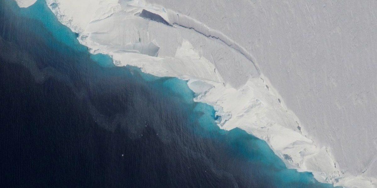 El glaciar de Thwaites   NASA / OIB / JEREMY HARBECK