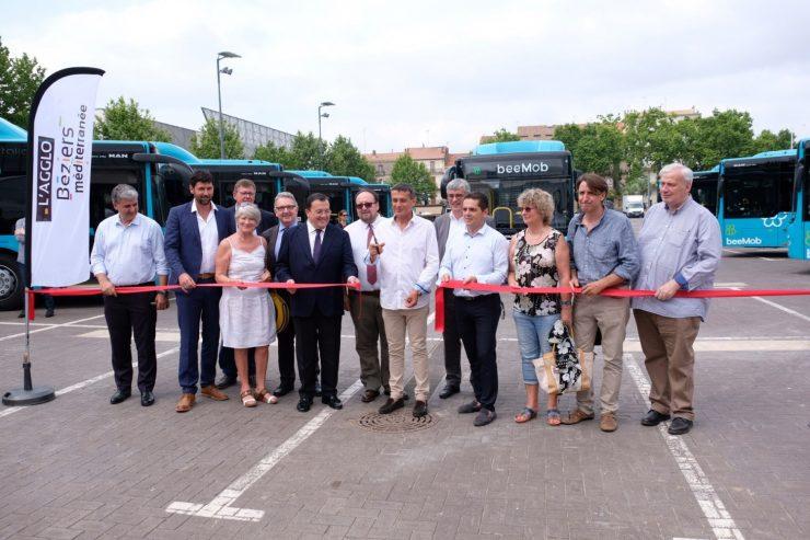 Vectalia Béziers renueva la flota de autobuses