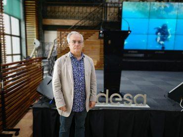 Miquel Porta, investigador i expert en Salut Pública ha impartit una conferència a la seu d'Endesa   M.R.F.