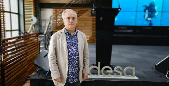 Miquel Porta, investigador i expert en Salut Pública ha impartit una conferència a la seu d'Endesa | M.R.F.