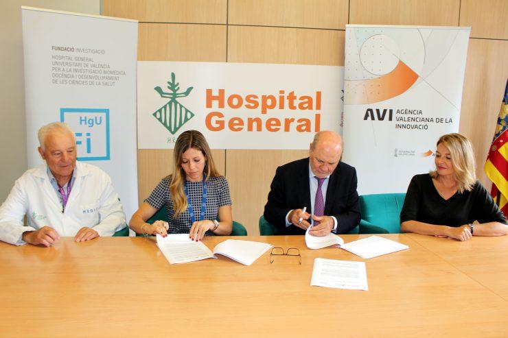 AVI y FIHGUV firman un convenio para el desarrollo de robots y telecirugía.