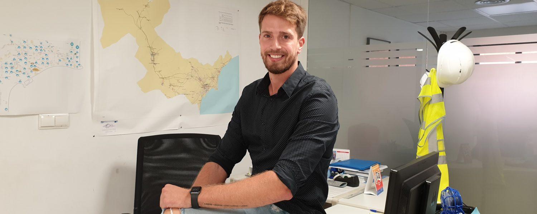 Desde la asociación YWP, Alejandro García pretende impulsar el trabajo de los jóvenes talentos en la gestión del agua.