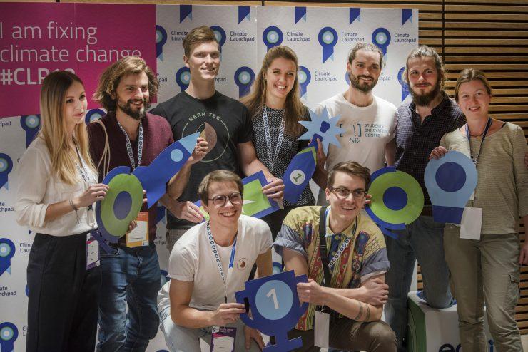 Los concursantes de la edición 2018 de ClimateLaunchpad